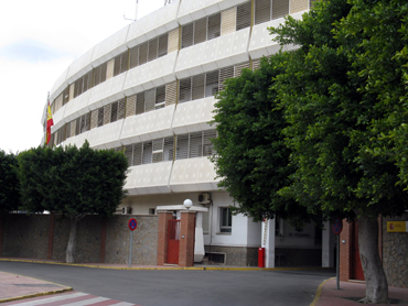 Dependencias de la Guardia Civil en Almería